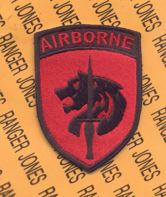 US Army Element Special Operations Command Africa Airborne SOCAFRICA patch c/e