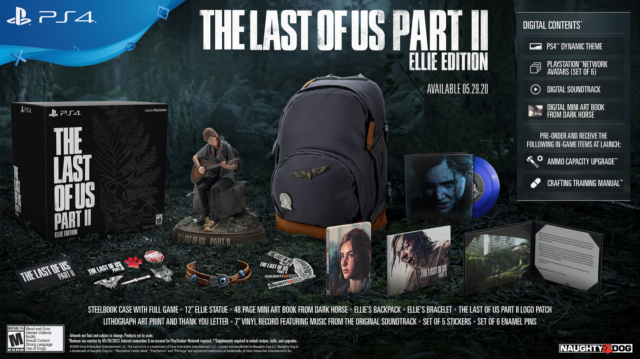 The Last of Us Part II Ellie Edition PS4 BRAND NEW