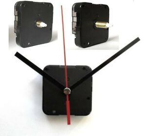 Quarzuhrwerk LAUTLOS *kurz* oder *lang* KEIN TICKEN Uhrwerk mit Zeiger nach Wahl