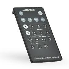 Bose-Wave Radio II Remote Control Black Original