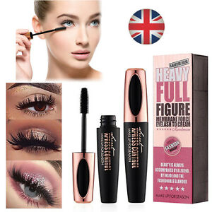 4D-Silk-Fibre-Mascara-Eyelash-Waterproof-Extension-Volume-Long-Lasting-Make-Up