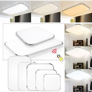 LED Deckenleuchte Deckenlampe 12-64W Wohnzimmer Badleuchte Dimmbar Küchen Lampe