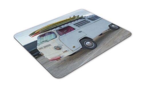 Cool Campervan Camper Van Gift PC Computer #8397 Retro Surf Van Mouse Mat Pad