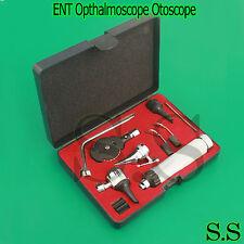 ENT Opthalmoscope Otoscope Nasal Larynx Diagnostic Set