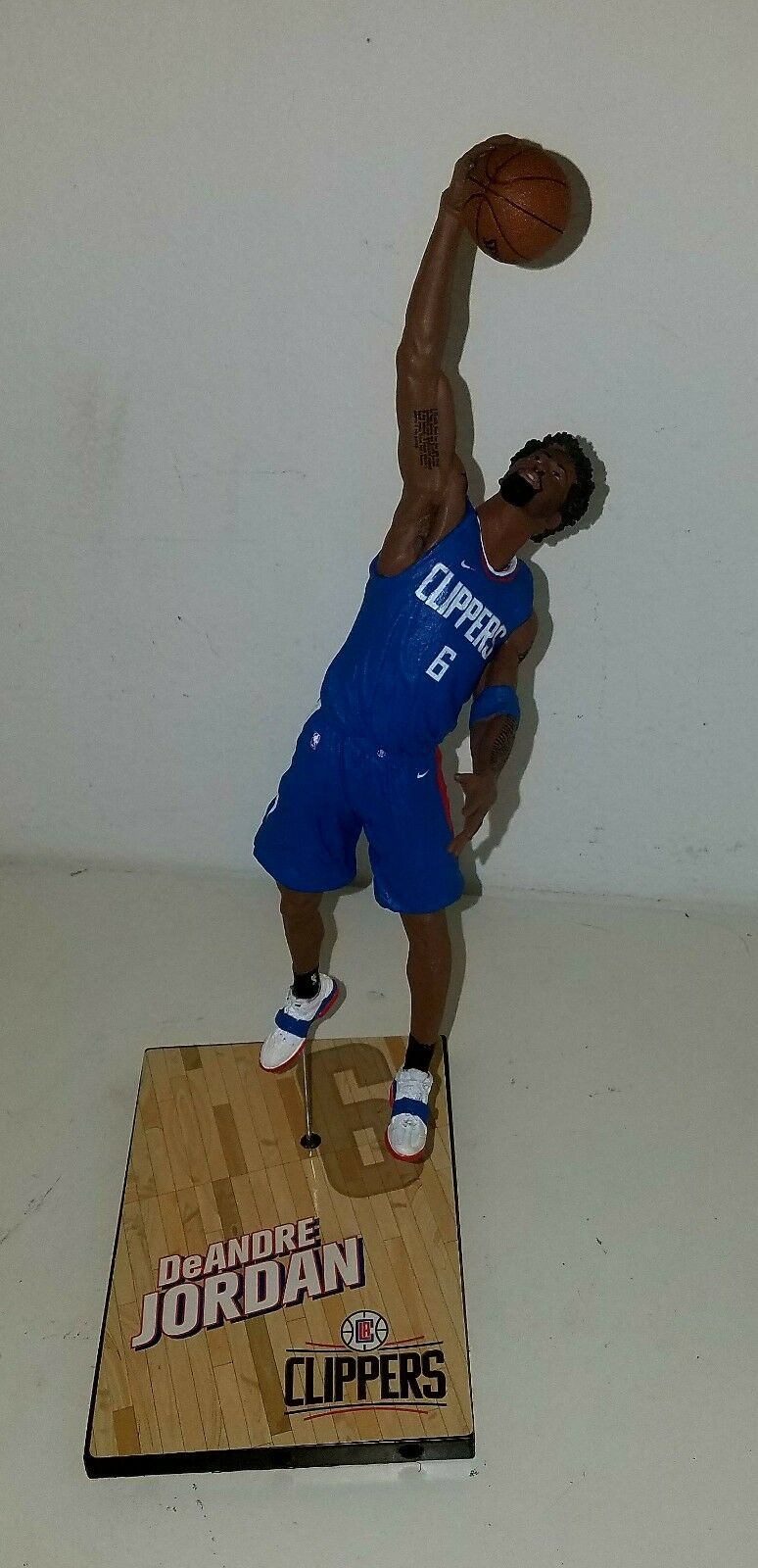 Custom D. Jordan C LA Clippers (new nike uniforms) Mcfarlane figure