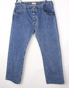 Levi's Strauss & Co Hommes 501 Jeans Jambe Droite Taille W38 L30 BCZ247