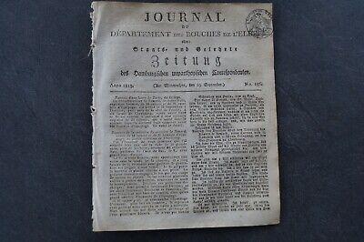 1813 156 / Kaper Bei St Malo / Lager Bei Dresden / Darmstadt Novel (In) Design;