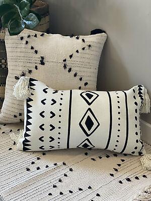 Lumbar Pillow Cover Bohemian Rug Pillow RUG Lumbar Pillow Cover Ethnic Lumbar Cushion  P- 889 Ethnic RUG Lumbar  Pillow Case