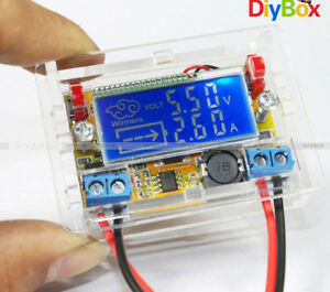 2A-3A-5A-10A-Step-down-Power-Supply-Voltage-Current-LCD-Display-With-Case
