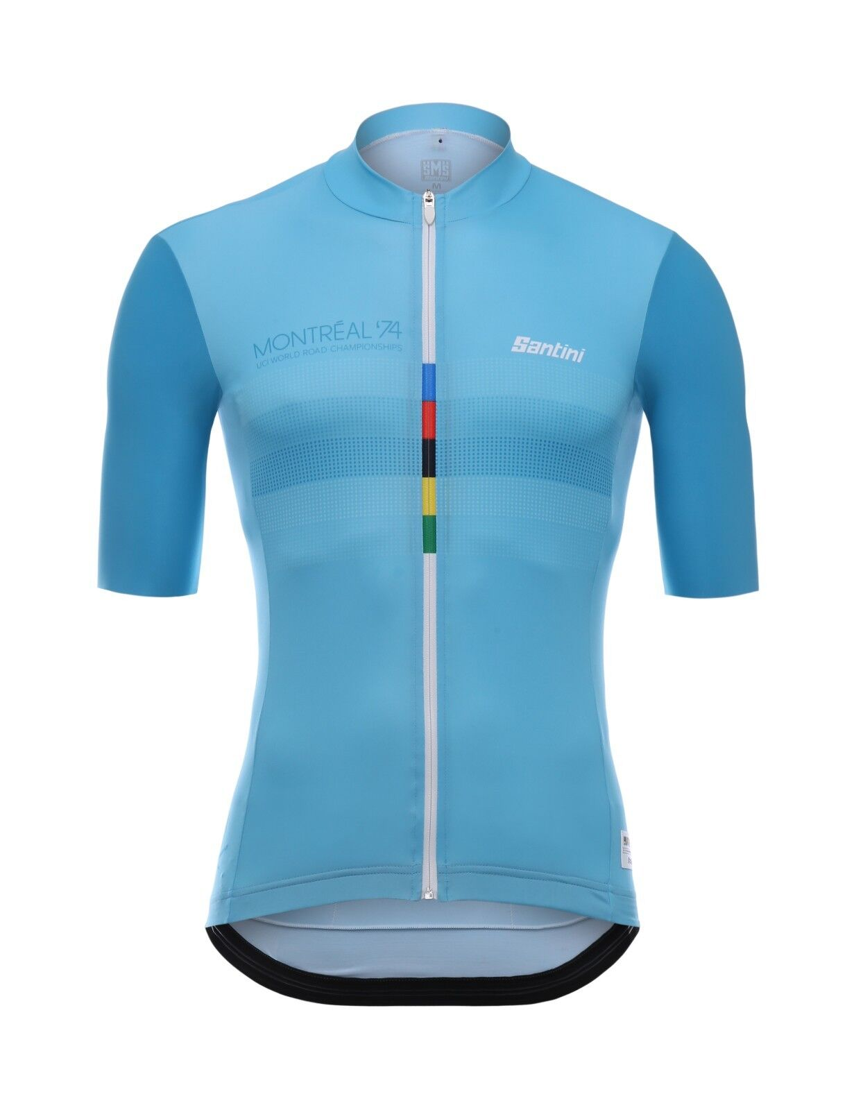 2018 UCI LE  CANNIBALE SKULL CYCLING JERSEY in bluee Made in  by Santini  all in high quality and low price
