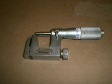 Mitutoyo No 117 107 Anvil Micrometer 0 1 Range 0001