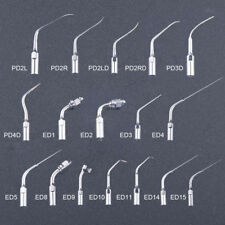 Dental Ultrasonic Scaler Scaling Endo Perio Tips For Ems Woodpecker Pe 17 Types