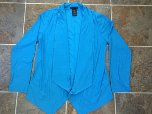 Red /& black New GRACE ELEMENTS Open Front Cardigan Long Sleeve Blue