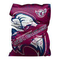 Manly Sea Eagles Bean Bag Giant Big Nrl Rugby League Christmas Gift Sale
