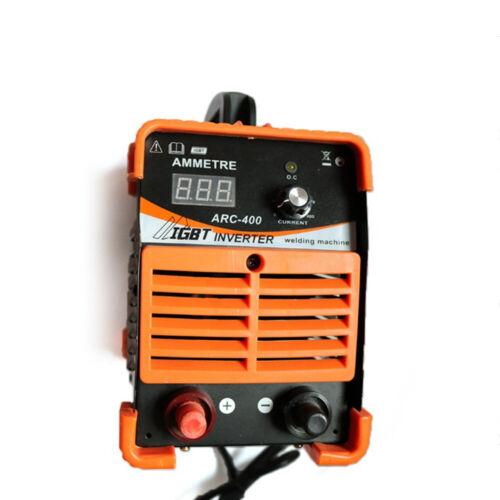 220V IGBT Inverter Schweißgerät Mini ARC Welder 10-400A 1.6-3.2MM Schweißstab DE