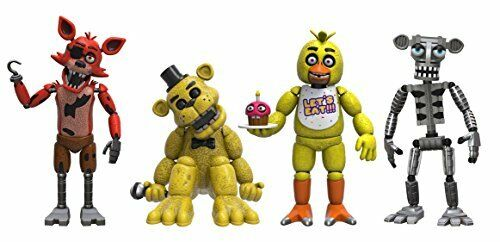 or Freddy Funko Five Nights at Freddys Action Figure 4 PACK-FOXY Chica un