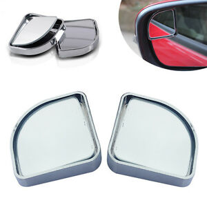 2pcs Universal Wide Angle Convex Rear Side View Blind Spot