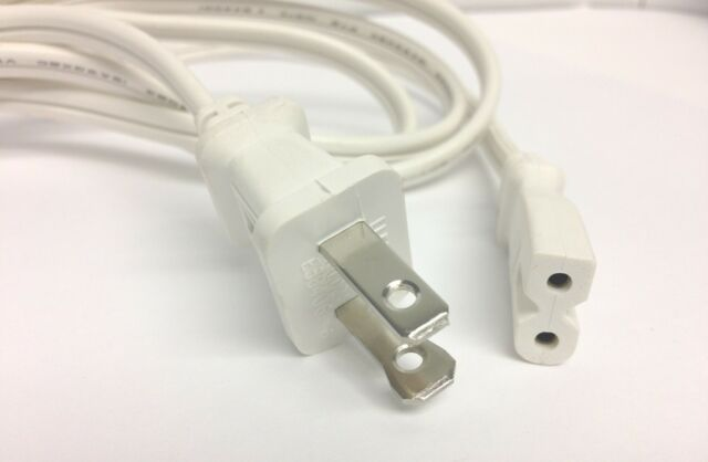 3,4,5 BOSE IV SPEAKERS WHITE AC POWER CORD REPLACEMENT Cable BOSE COMPANION