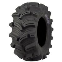 Set Of (2) Kenda 27-10-12 Executioner Atv Utv Tires W/rim Guard 27x10-12