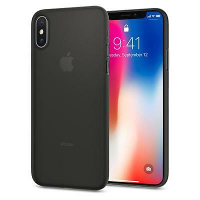 iPhone X Case, Genuine SPIGEN Air Skin Ultra Thin Soft Cover for Apple
