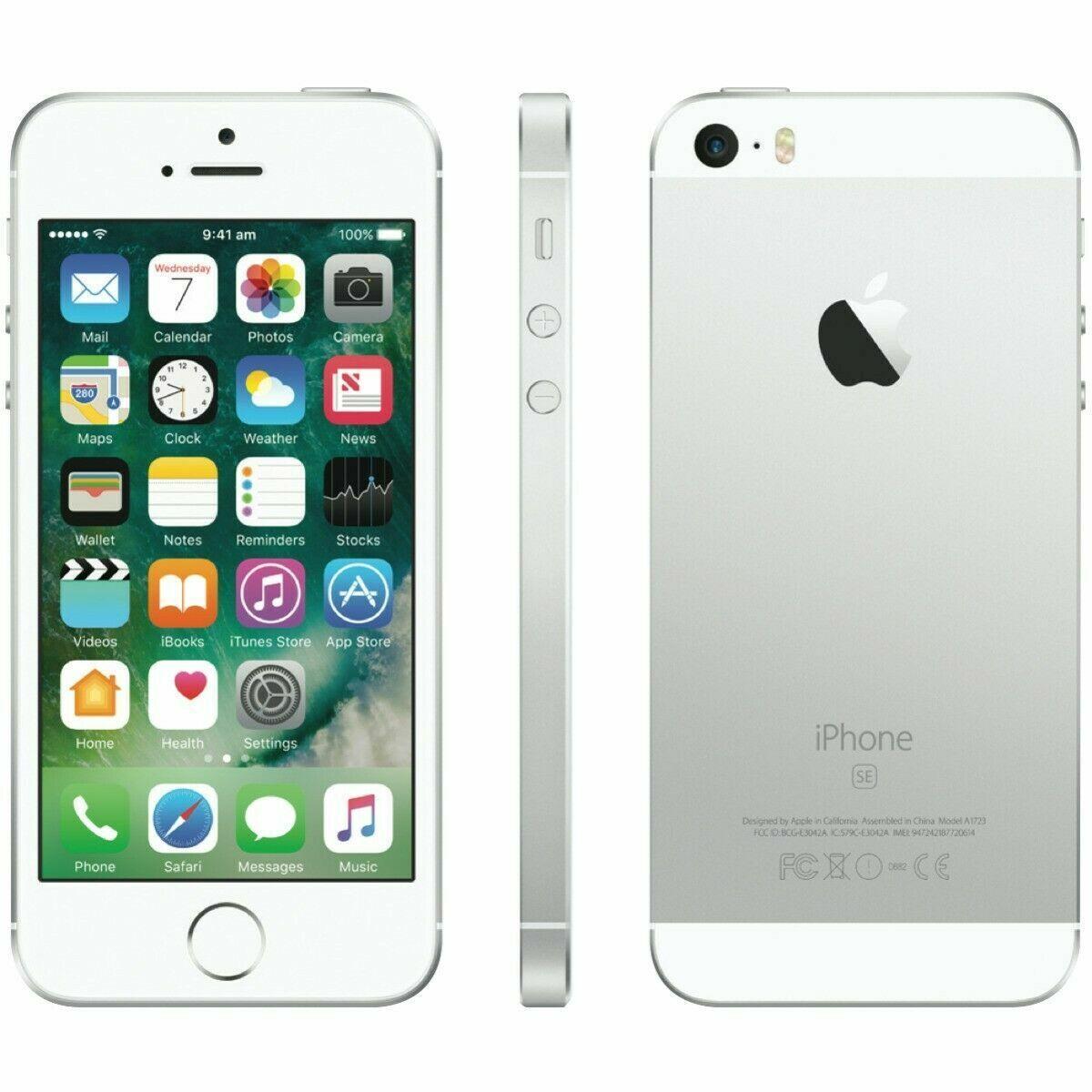 iPhone: APPLE IPHONE SE 16GB SILVER GRADO A++ RIGENERATO  RICONDIZIONATO APPLE