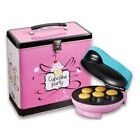 Simeo Cupcakemaker blau Pink Törtchen