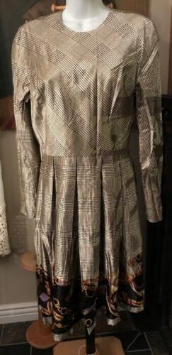 Travilla dress vintage silk William Bill Travilla