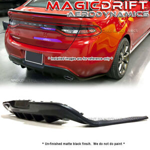 For 13-17 Dodge Dart GTS Style Rear Bumper Lower Diffuser ...