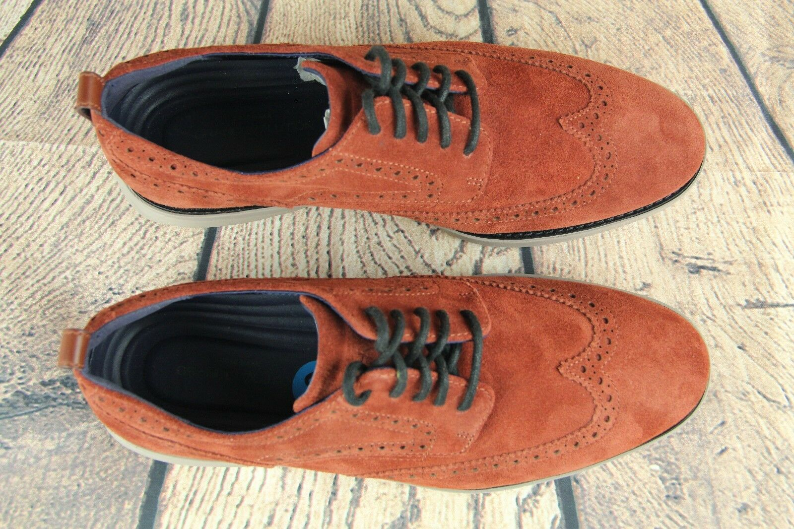 cf5298f8edd1 ... Cole Haan GrandEvolution GrandEvolution GrandEvolution Wingtip Oxford  Shoes Brandy Brown C26314 Size 11M 0c30b6 ...