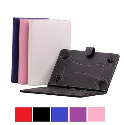 PU Leather Keyboard Case For  10.1'' Dragon Touch A1X Android Tablet
