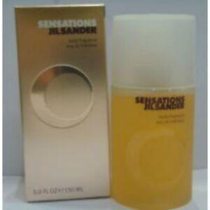 Sensations-De-Jil-Sander-pour-dames-Body-Parfum-OVP-RARE