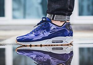 huge discount 96e1e 5b9a4 Image is loading Nike-Air-Max-90-VT-QS-SHINY-ROYAL-