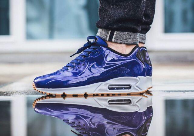 promo code 63ee5 f7d45 Nike Air Max 90 VT QS SHINY ROYAL BLUE HITS Shoe Mens Sz 8.5 831114-