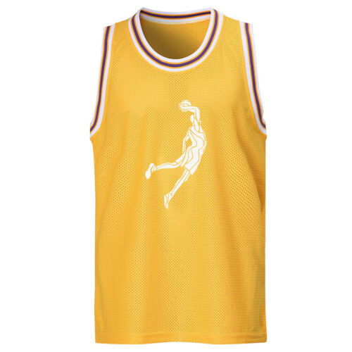 Homme Sans Manches Maille Basketball Jersey SLAM DUNK team Tank Top Sports Tee 0037