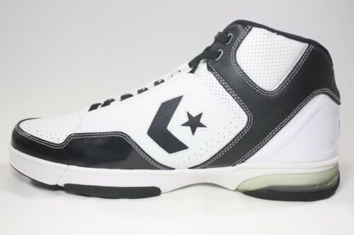 NEW//RARE Converse Weapon EVO Mid White//Black 110918