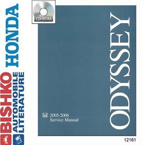 2005 2006 honda odyssey shop service repair manual cd ebay. Black Bedroom Furniture Sets. Home Design Ideas