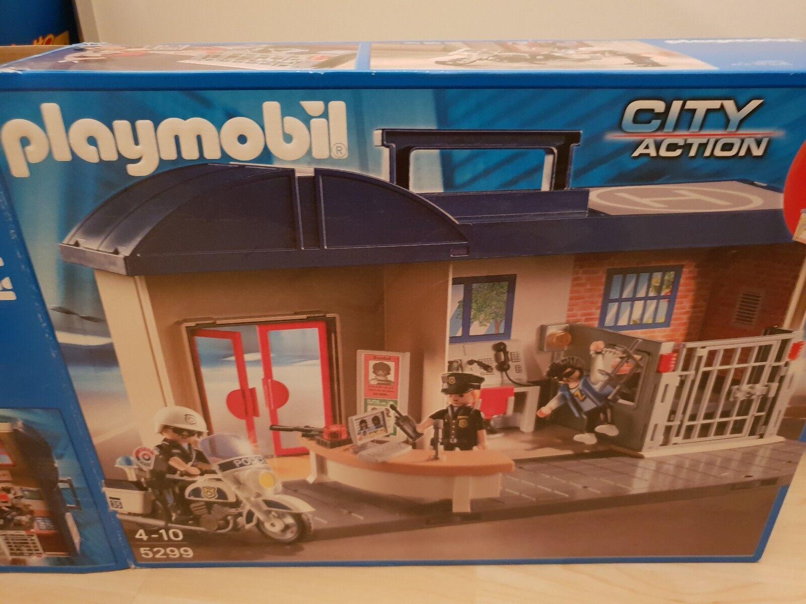Playmobil zum mitnehmen Polizei 5299    Neu