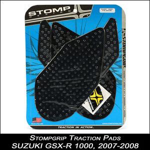 Stompgrimp-cuscinetti-di-trazione-SUZUKI-GSX-R-1000-07-08-nero-Tankpad