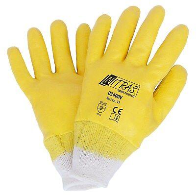 144 P gelb Nitrilhandschuhe Größe 10