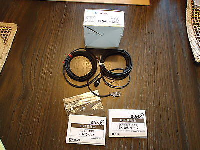 New Sunx Ex-13ead & Ex13p Photoelectric Made In Japan Antiquities