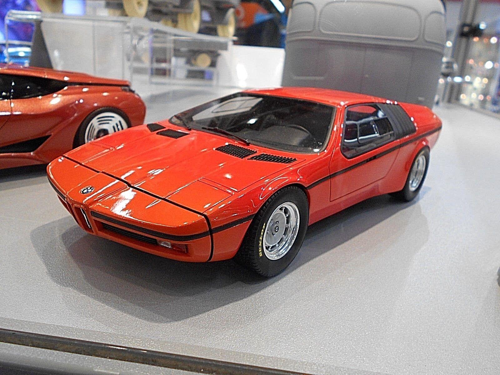 BMW M1 Turbo Turbo Turbo Concept Studie X1 E25 orange 1972 Resin RAR Schuco 1 18 a21698