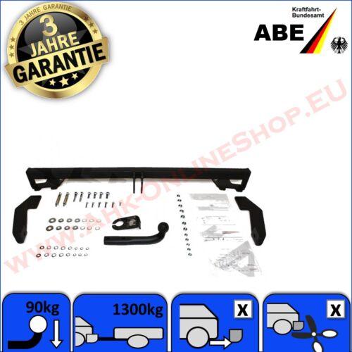 AHK Fiat Doblo 01-10 Cargo Kasten Multijet Anhängerkupplung Anhängevorrichtung