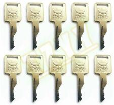 10 Ignition Key For Bobcat Skid Steer Loaders And Mini Excavators 6693241 D250