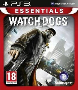 Watch Dogs Watchdogs PS3 Game