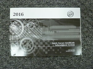 Image Is Loading 2016 Buick Encore Suv Navigation System Owner Manual