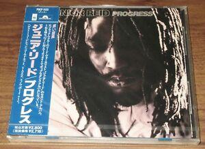 FREE-ship-SEALED-Japan-PROMO-issue-CD-Junior-Reid-PROGRESS-Black-Uhuru-REGGAE