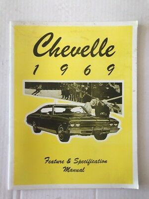 1969 69 CHEVROLET NOVA//  SS  ILLUSTRATED FACTS