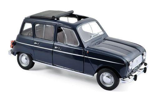 Renault 4 (1965) copenhague bluee 1 18 Norev 185241 185241 185241 590178
