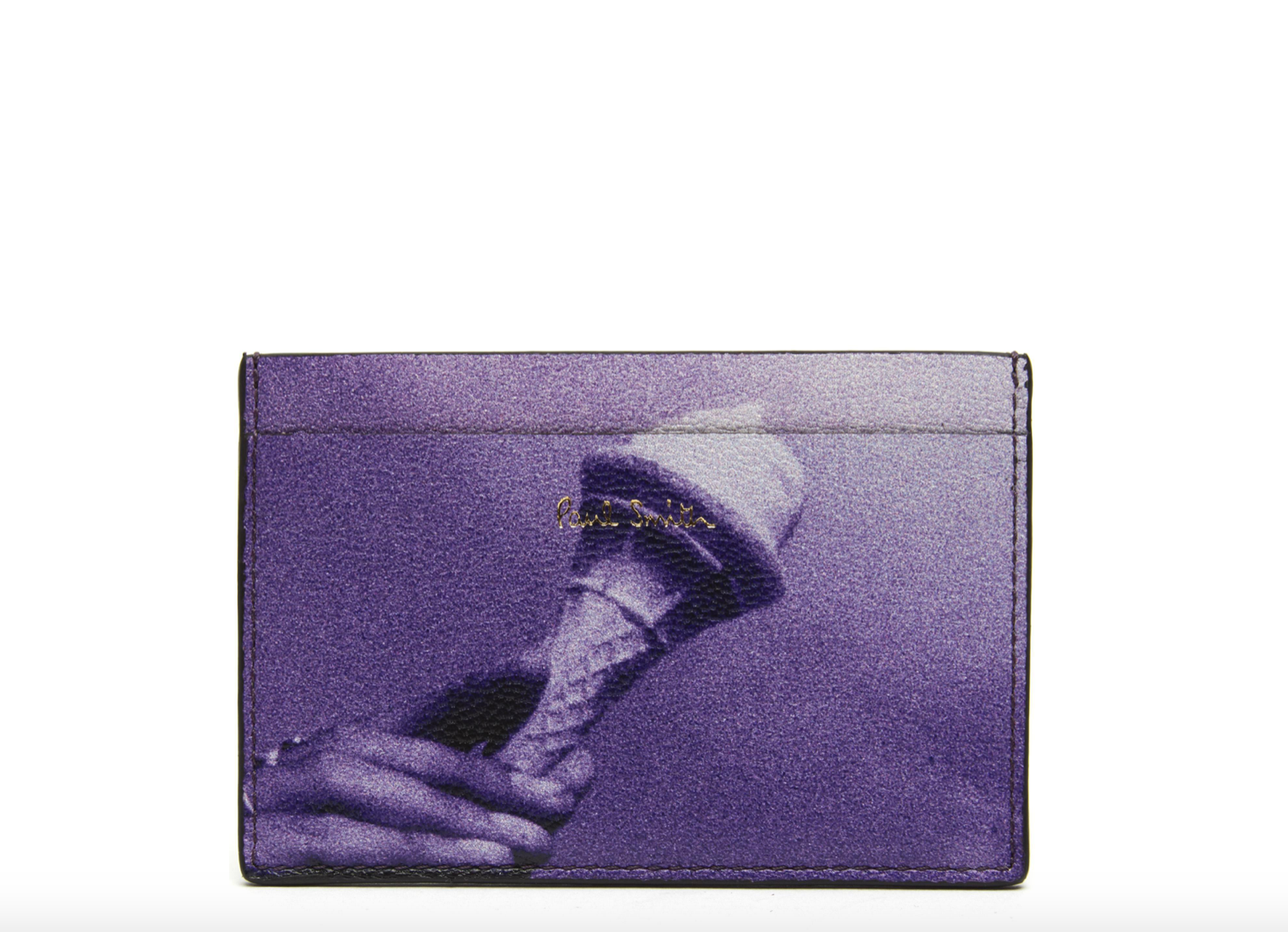 Paul Smith Wallet - BNWT Purple Ice Cream Credit Card Holder Case RRP: