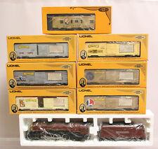 LIONEL O GA. # 6-8210 JOSHUA LIONEL COWEN 4-6-4 LOCO W/ 6 BOXCARS AND CABOOSE